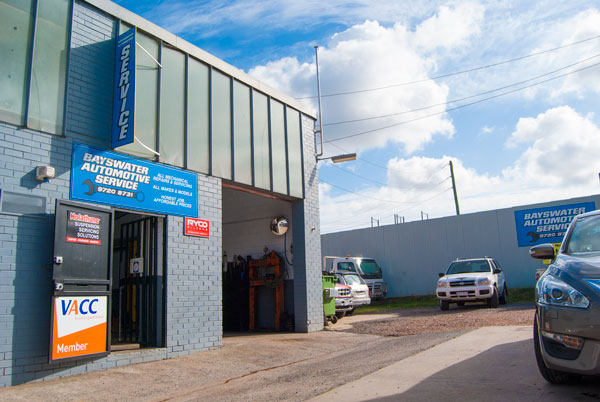 Bayswater Automotive Service Workshop